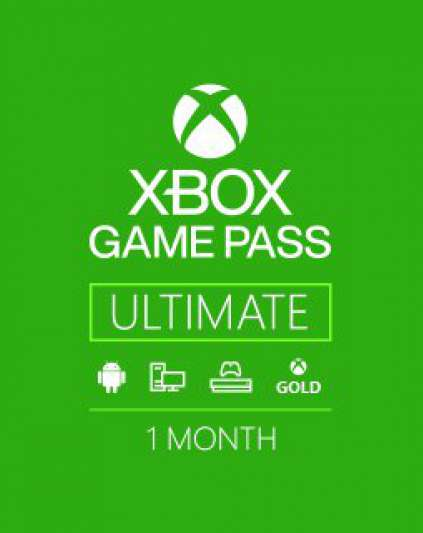 Microsoft Xbox Game Pass Ultimate 1m
