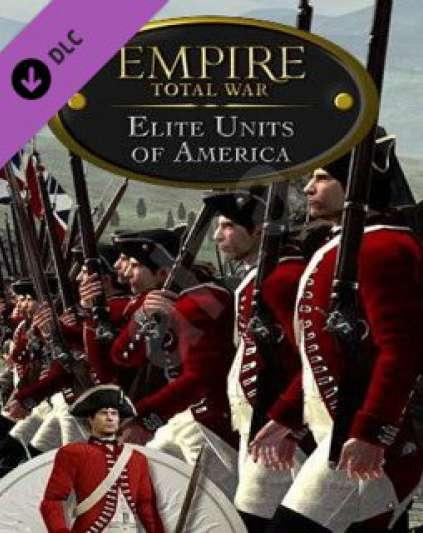 Empire Total War Elite Units of America