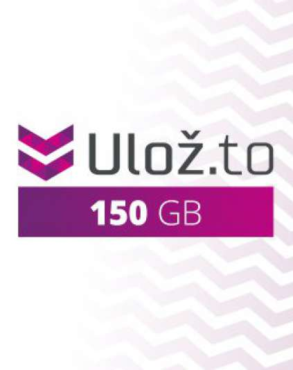 Ulož.to 150 GB