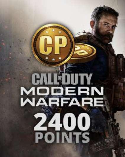 Call of Duty Modern Warfare 2400 Points