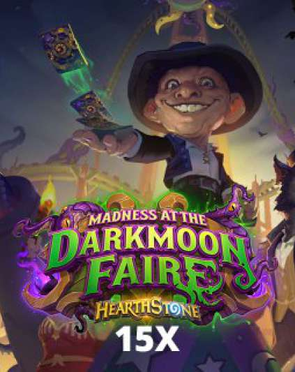 15x Madness at the Darkmoon Faire