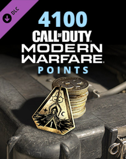 Call of Duty Modern Warfare 4100 Points