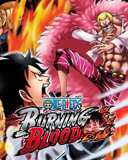 One Piece Burning Blood krabice