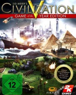 Civilization V GOTY Edition krabice