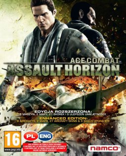 Ace Combat Assault Horizon Enhanced Edition krabice