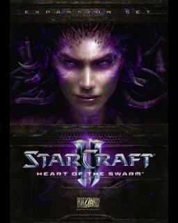 StarCraft 2 Heart of the Swarm krabice