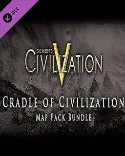 Sid Meiers Civilization V Cradle of Civilization DLC Bundle MAC krabice
