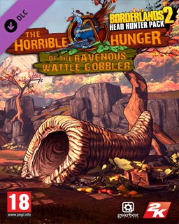 Borderlands 2 Headhunter 2 The Horrible Hunger of the Ravenous Wattle Gobbler MAC krabice