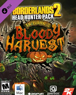 Borderlands 2 Headhunter 1 TK Bahas Bloody Harvest MAC krabice