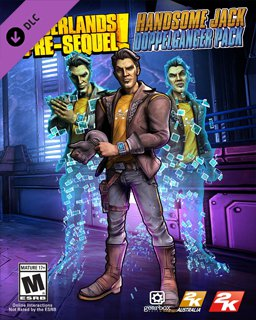 Borderlands The Pre-Sequel Handsome Jack Doppelganger Pack krabice