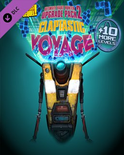 Borderlands The Pre-Sequel Claptastic Voyage and Ultimate Vault Hunter Upgrade Pack 2 krabice