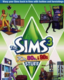 The Sims 3 70s, 80s and 90s Stuff krabice