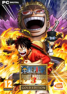 One Piece Pirate Warriors 3 Gold Edition krabice