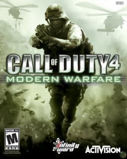 Call of Duty 4 Modern Warfare krabice