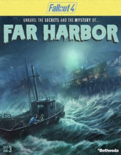 Fallout 4 Far Harbor krabice