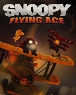 Snoopy Flying Ace Xbox 360 krabice