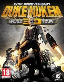 Duke Nukem 3D 20th Anniversary World Tour krabice