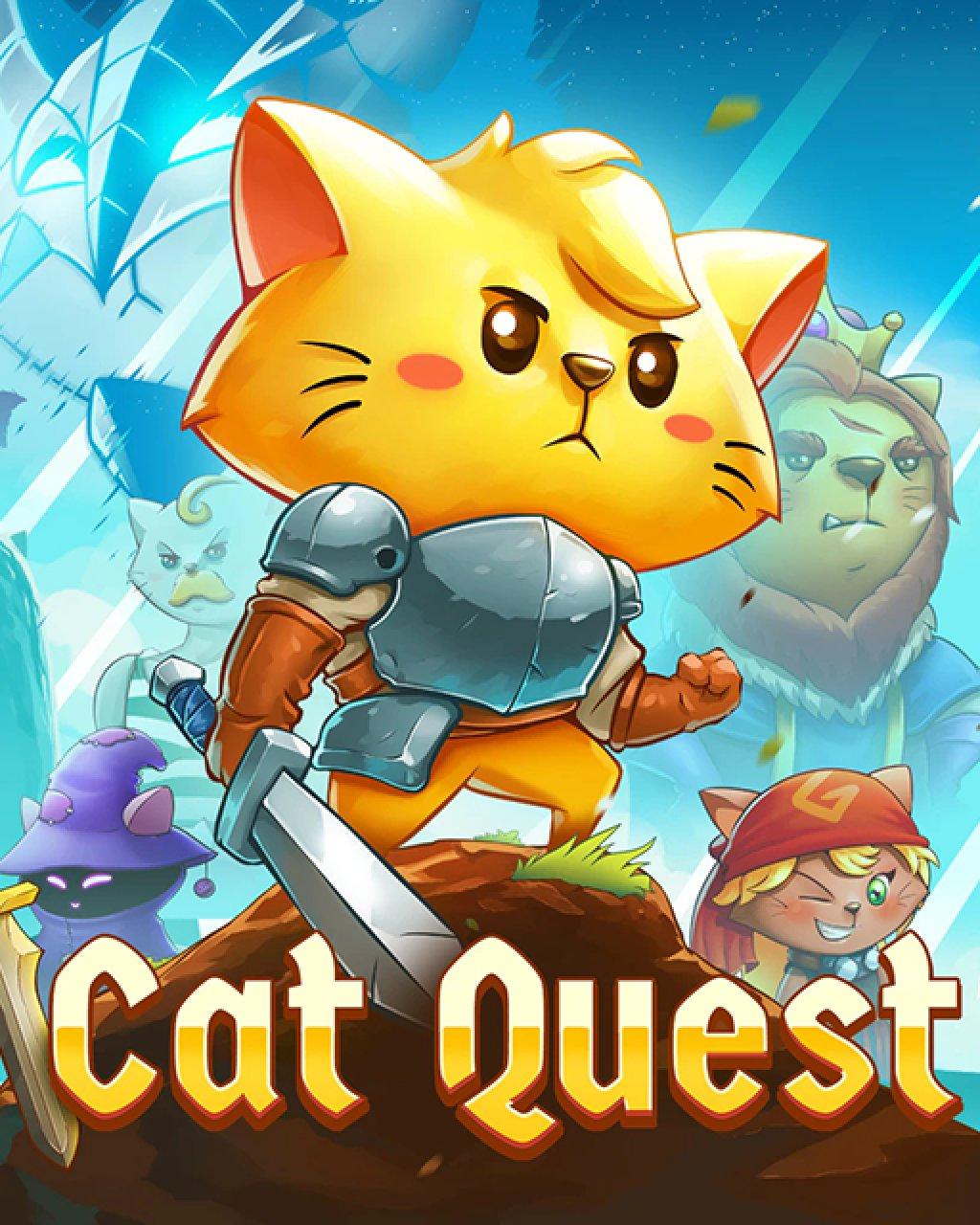 Cat Quest krabice