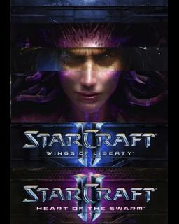Starcraft 2 WOL + HOTS krabice