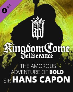 Kingdom Come Deliverance The Amorous Adventure of Bold Sir Hans Capon krabice