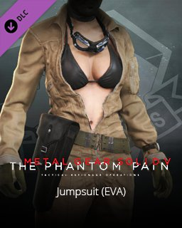 Metal Gear Solid V The Phantom Pain Jumpsuit (EVA)
