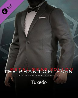 Metal Gear Solid V The Phantom Pain Tuxedo