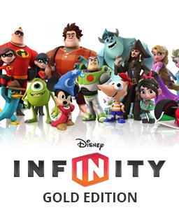 Disney Infinity Gold Edition krabice