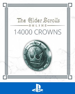The Elder Scrolls Online 14000 Crowns krabice