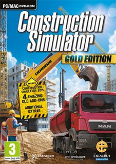Construction Simulator Gold Edition krabice