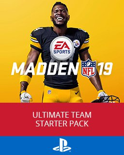 Madden NFL 19 Ultimate Team Starter Pack