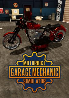 Motorbike Garage Mechanic Simulator krabice