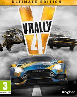 V-rally 4 Ultimate Edition krabice