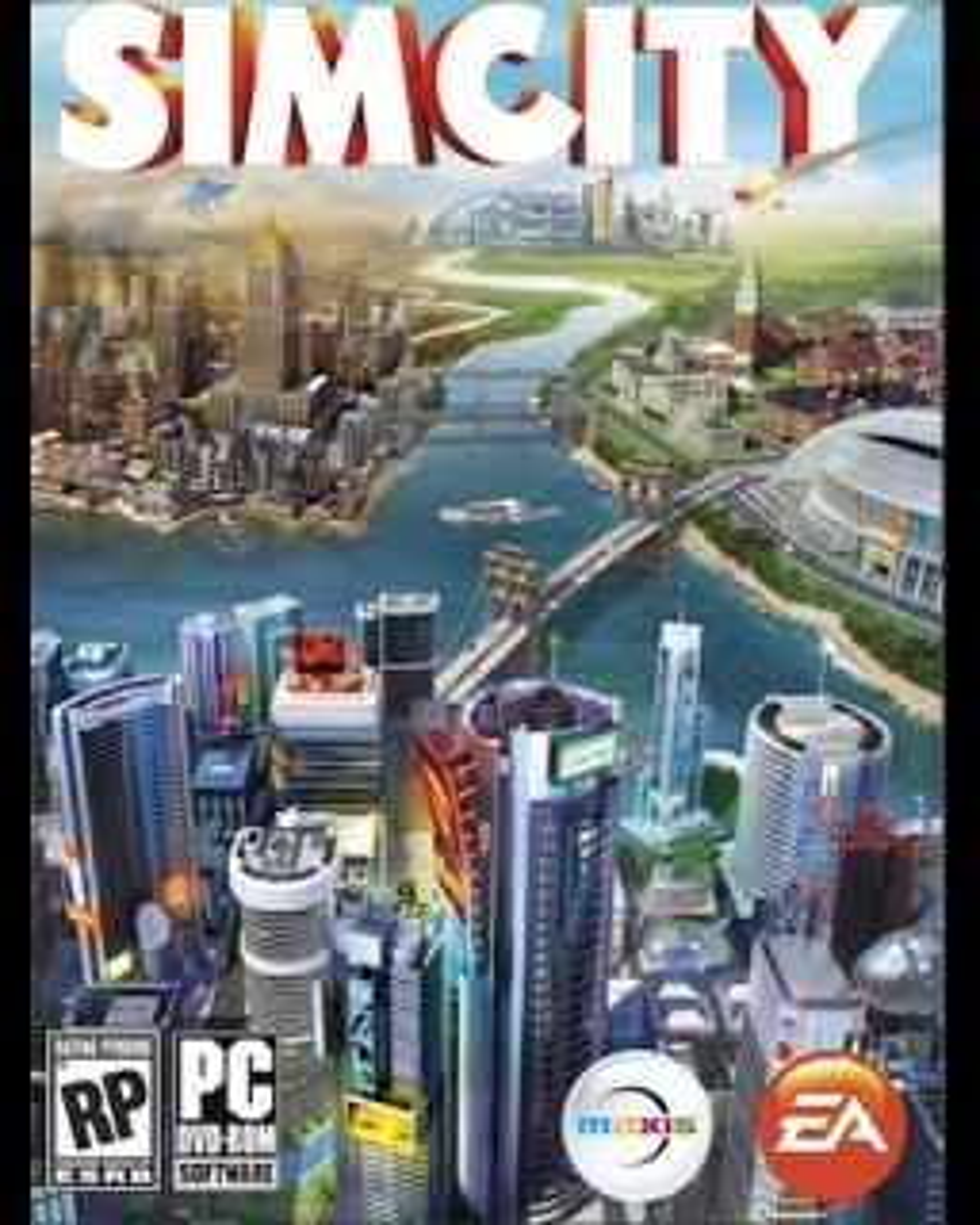 SimCity krabice
