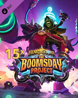 15x Hearthstone The Boomsday Project krabice