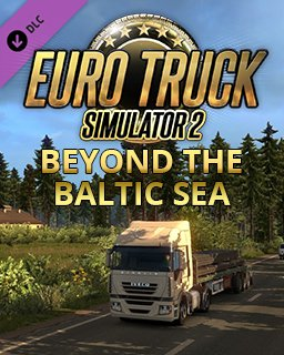 Euro Truck Simulátor 2 Beyond the Baltic Sea | Pobaltí krabice