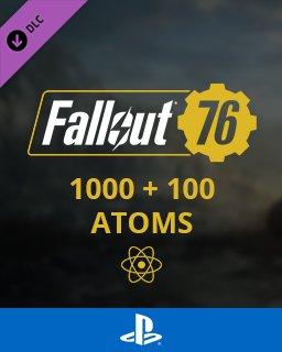 Fallout 76 1000+100 Atoms
