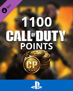 Call of Duty Black Ops 4 - 1100 Points krabice