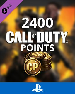 Call of Duty Black Ops 4 - 2400 Points krabice
