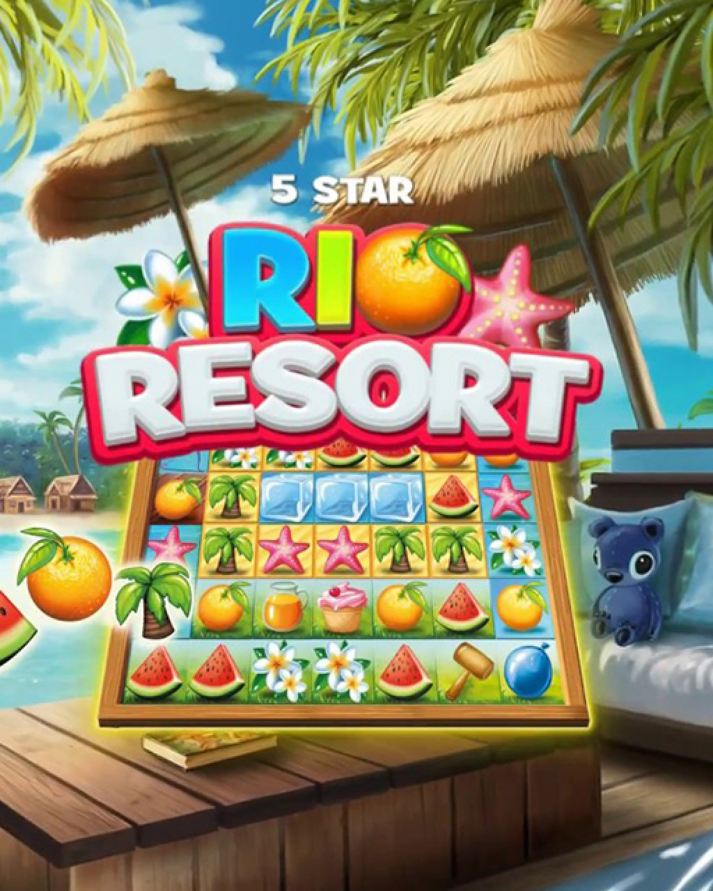5 Star Rio Resort krabice