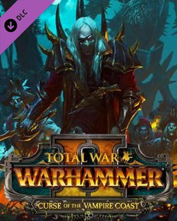Total War WARHAMMER II Curse of the Vampire Coast krabice