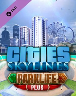 Cities Skylines Parklife Plus krabice