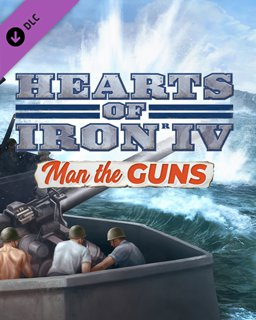 Hearts of Iron 4 Man the Guns krabice