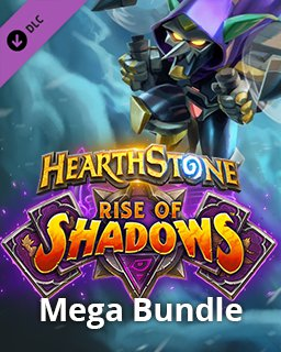Hearthstone Rise of Shadows Mega Bundle krabice