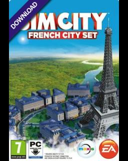 SimCity French City Pack krabice