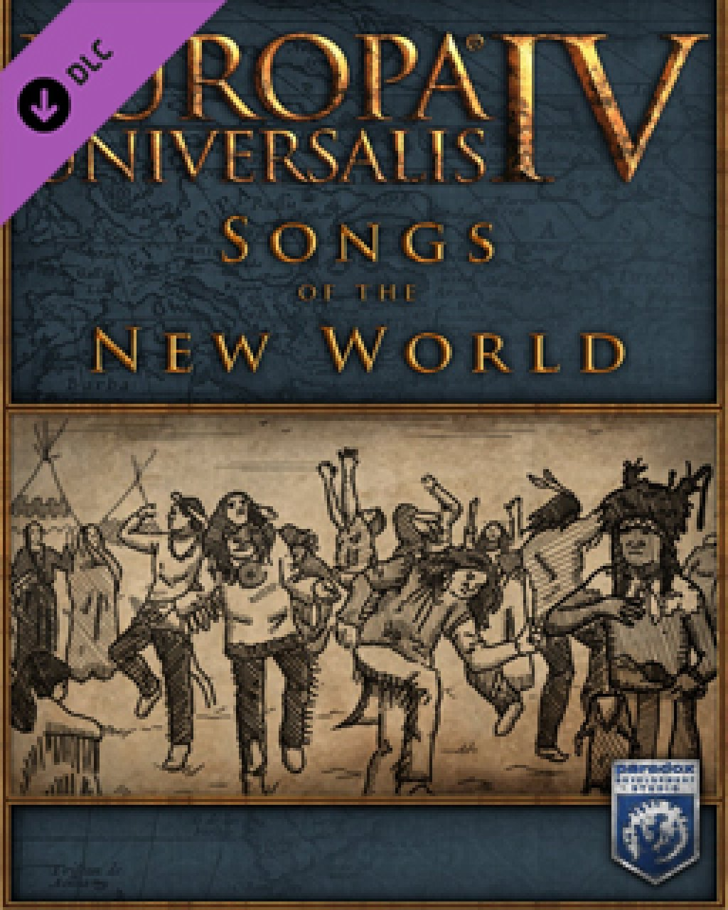 Europa Universalis IV Songs of the New World krabice