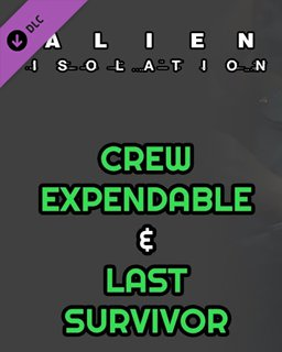 Alien Isolation Crew Expendable + Last Survivor krabice