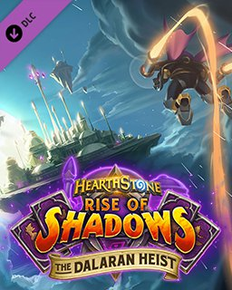 Hearthstone Rise of Shadows The Dalaran Heist krabice