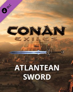 Conan Exiles Atlantean Sword krabice