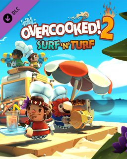 Overcooked! 2 Surf and Turf