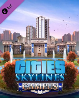 Cities Skylines Campus krabice